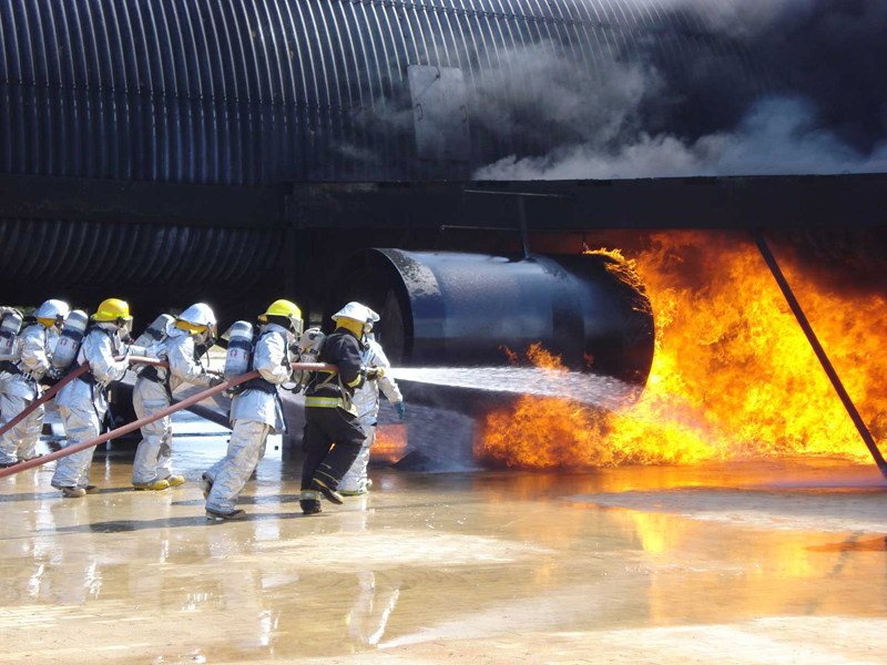 Commonwealth Ports Authority Advanced ARFF Training